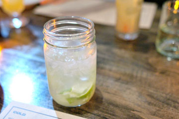 #73 - Novo Fogo Silver Cachaca, Lime, Sugar