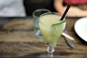 #76 - Green Chartreuse, Velvet Falernum, Pineapple, Lime