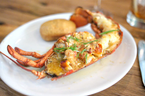 Wood Oven Roasted Atlantic Lobster