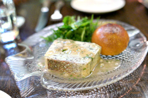 Rouget & Noix de St. Jacques Terrine