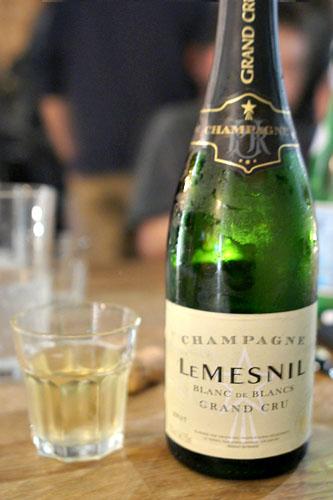 Le Mesnil Blanc De Blancs Brut Champagne Grand Cru