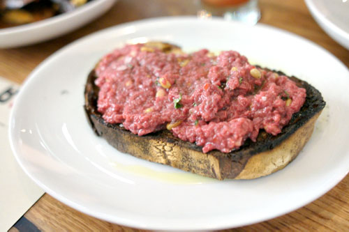 Beef Heart Tartare
