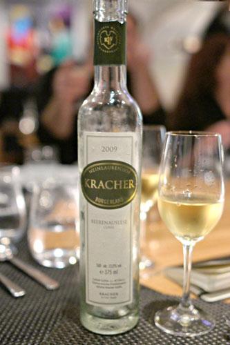 Kracher 'Cuvée Beerenauslese', Burgenland, Austria 2008