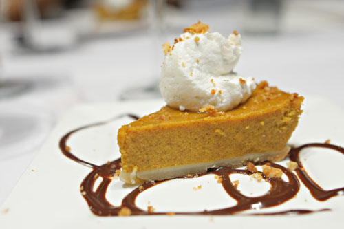 Ethiopian Spiced Pumpkin Pie