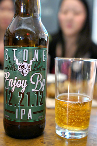 Stone Enjoy By 12.21.12 IPA
