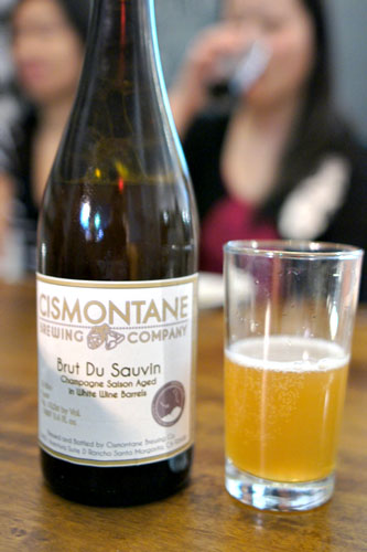 Cismontane Brewing Company Brut Du Sauvin