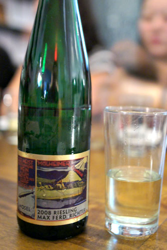 2008 Weingut Max Ferd. Richter Mlheimer Sonnenlay Riesling Qualittswein