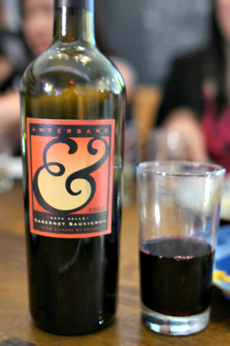 2009 Ampersand Larry Bump Cabernet Sauvignon Darms Lane Vineyard