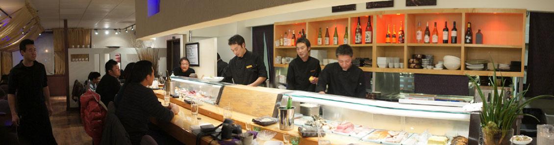 Sushi Murasaki Interior