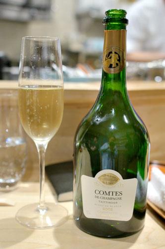 2002 Taittinger Champagne Brut Blanc de Blancs Comtes de Champagne