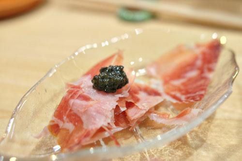 Jamón Ibérico with Caviar