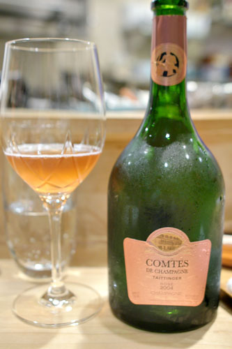 2004 Taittinger Champagne Comtes de Champagne Ros Brut