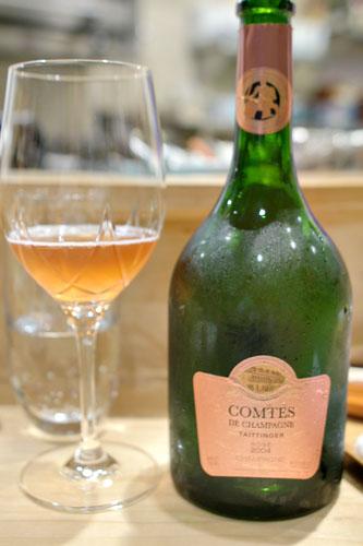 2004 Taittinger Champagne Comtes de Champagne Rosé Brut