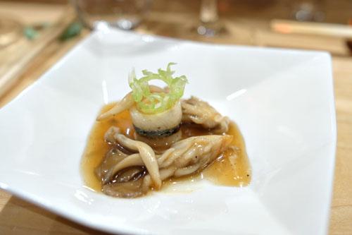 Needlefish and Mushrooms