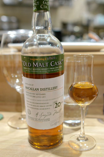 The Old Malt Cask Macallan 20 Year