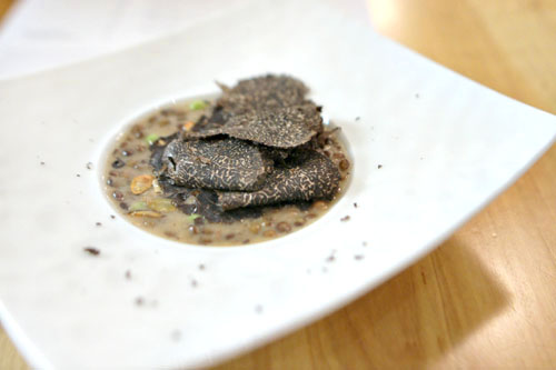 LENTILS | BLACK TRUFFLE