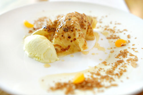 CREPE SUZETTE | WHITE CHOCOLATE