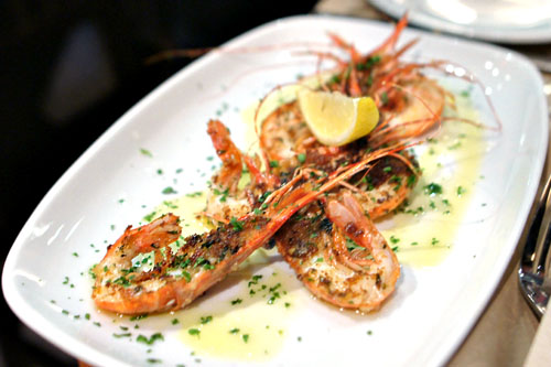 santa barbara spot prawns