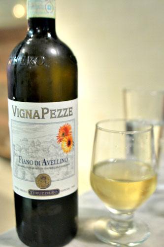 Fiano di Avellino 2011, Struzziero 'Vigna Pezze', Campaina, Italy