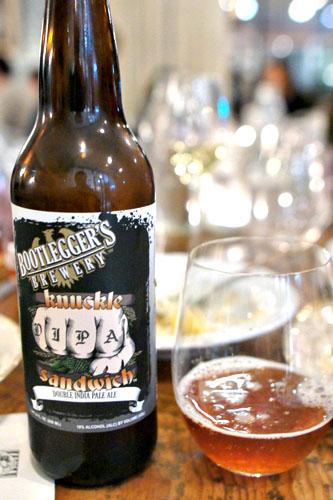 Bootlegger's Brewery Knuckle Sandwich