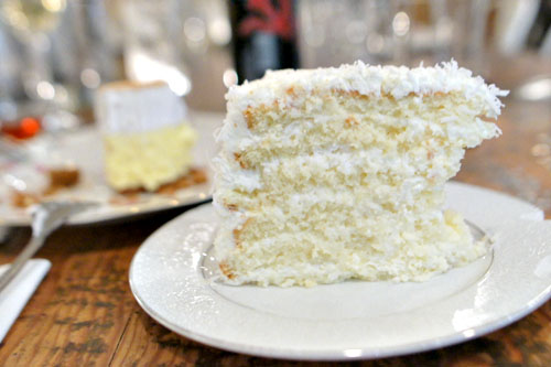 Charleston coconut cake