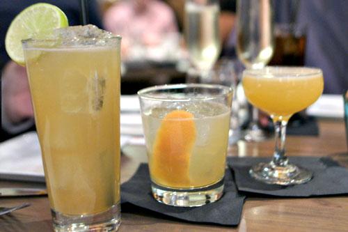 Baja Rickey / Anejo Honey Sour / Chili Limon