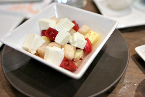 XINJIANG ALMOND GELATIN FRUIT SALAD
