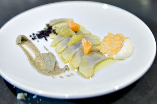 FROST KISSED ARTICHOKE CARPACCIO