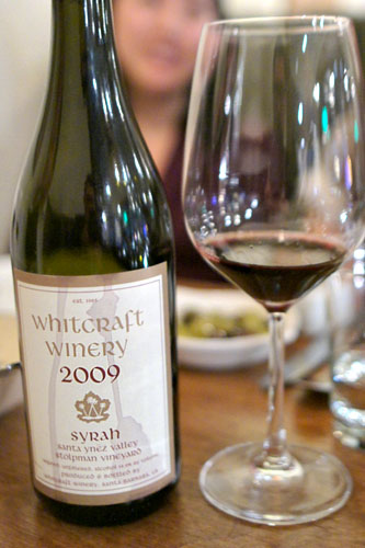 2009 Whitcraft Syrah Stolpman Vineyard