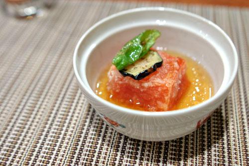 Agedashi Tomato Tofu