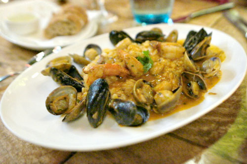 Risotto Frutti di Mare (Red)
