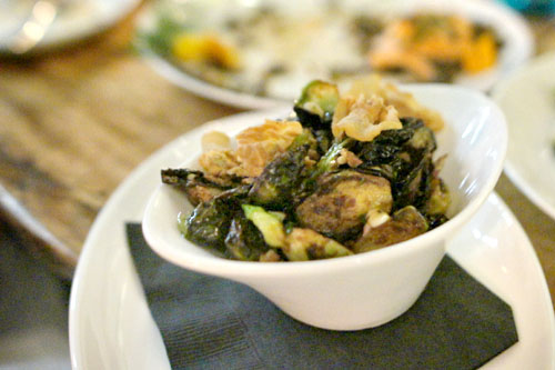 Brussels Sprouts - Pine Nuts, Crispy Guanciale