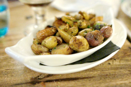Roasted Fingerlings, Cipollini Onion & Balsamic