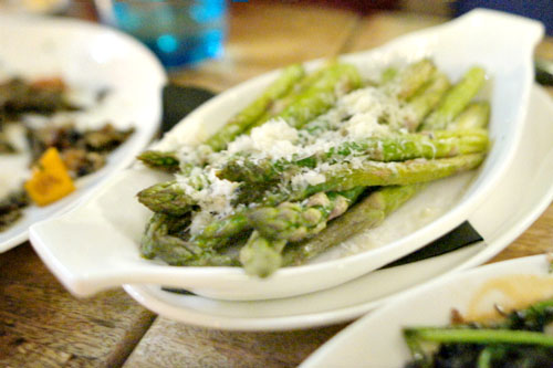 Oven Roasted Asparagus & Parmesan