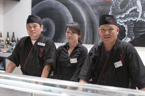 Juro-san, Shiori, Eiji-san