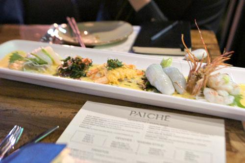 Ceviche Plate