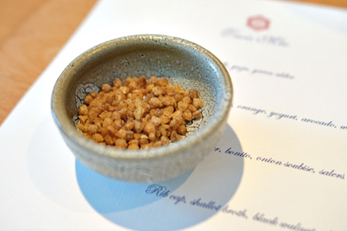 Buckwheat popcorn