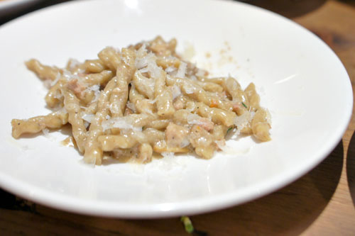 Toasted grain fusilli corti