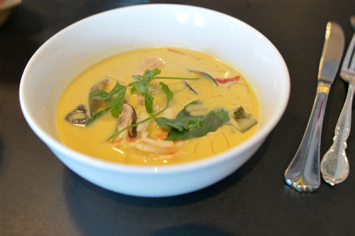 Thai Shellfish & Coconut Soup