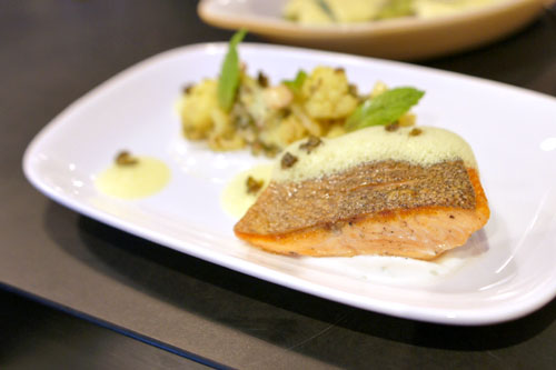 Roasted Steelhead Trout