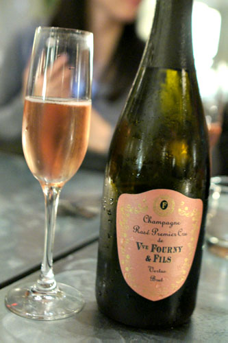 Vertus, Veuve Fourny, Brut Rosé, 1er Cru NV