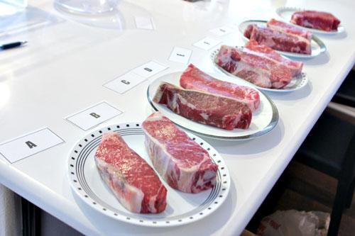 Steak Lineup