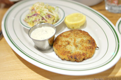 Nancy's Peeky Toe Crab Cake