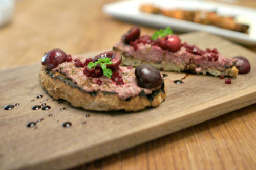 Chicken Liver Bruschette