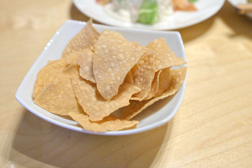 house tortilla chips
