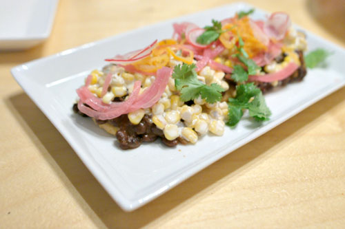 Corn & Black Bean Sopes