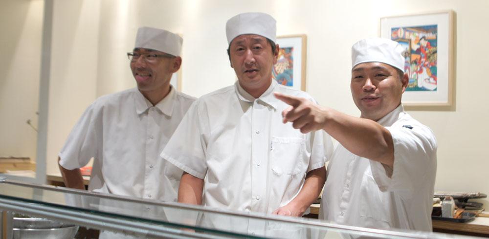 Yoshiyuki Inoue, Masanori Nagano, Taketoshi Azumi