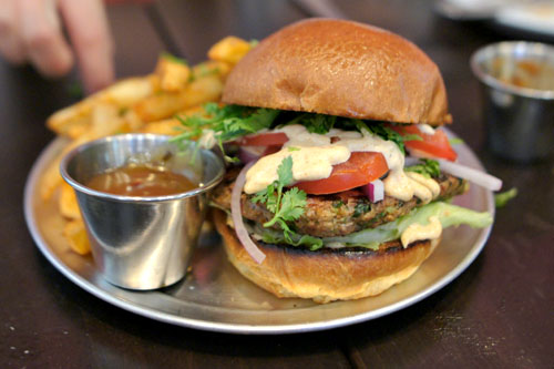 Spiced Lamb Burger
