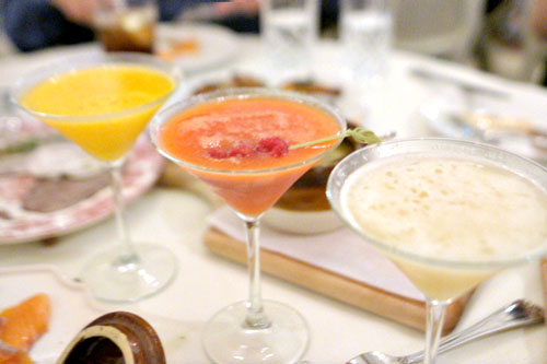 Sunny - Seaberry Martini / Klubnichka - Strawberry Martini / Grusha - Pear Martini