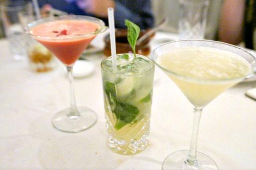 Kalinka - Malinka Martini / Moscow Mojito / Lolita Apricot - Martini